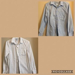 Old Navy Oxford Button Down Dress Shirts
